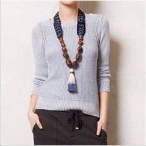 Anthro Sparrow Knit Sweater
